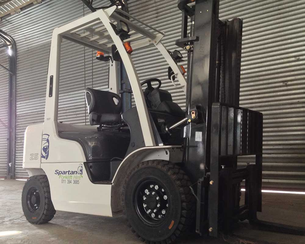 Hire a forklift in Johannesburg