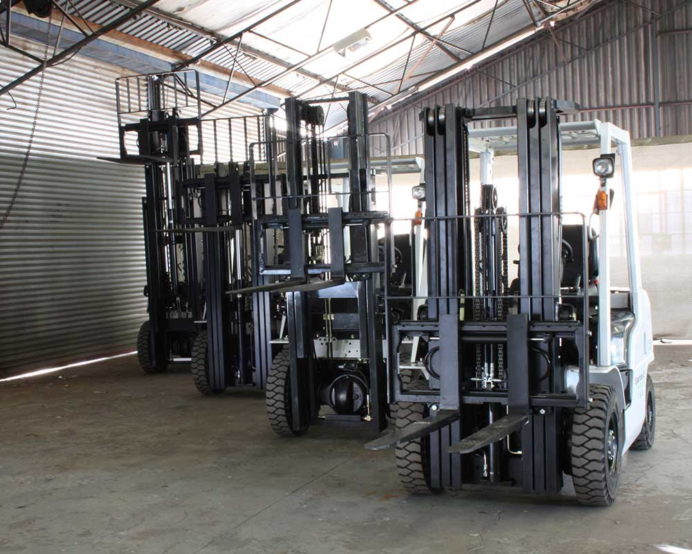 Hire a forklift